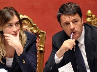 Sfiducia al Governo, Renzi e Boschi messi alle strette Foto